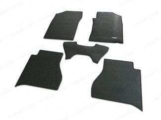 Nissan Navara NP300 16 On Double Cab Rubber Tailored Mat Set