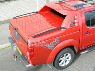 Nissan Navara D40 Alpha SCR Sports Tonneau Cover In Primer