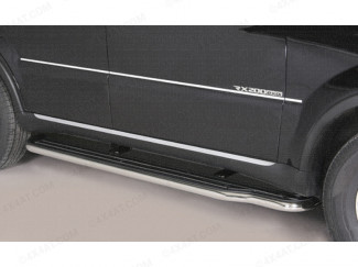 Misutonida 50mm Side Steps for the SsangYong Rexton 2013 Onwards