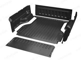 Fiat Fullback 16 Onwards Double Cab Proform Sportguard Pickup Bed Tray Liner Under Rail