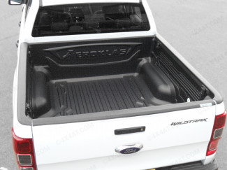 New Ford Ranger 2019 On DC Aeroklas Pickup Bed Tray Liner Over Rail