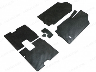 Ford Ranger T6 Extra Cab Rubber Tailored Mat Set
