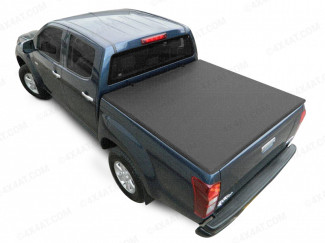 Ford Ranger 99-11 With Ladder Rack Soft Tri-Folding Tonneau Cover