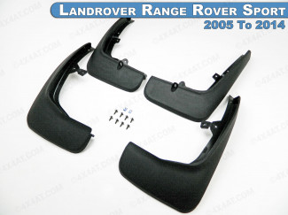 Landrover Range Rover Sport 2005 To 2014 Mud Flap 4pc Set