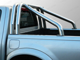 Mitsubishi L200 1997-2006 Double Hoop Stainless Steel Sports Bar