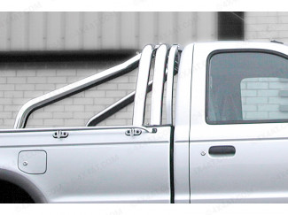 Double Hoop Stainless Steel Sports Bar Ranger / Hilux