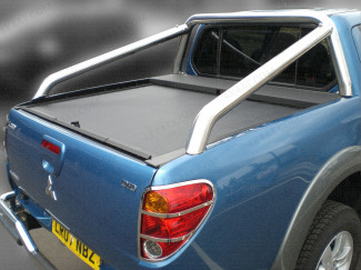 Single Hoop Extended Sports Bar For L200 Mk5 Double Cab Curved Bed