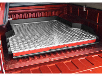 Isuzu D-Max Heavy Duty Wide Chequer Plate Deck Bed Slide