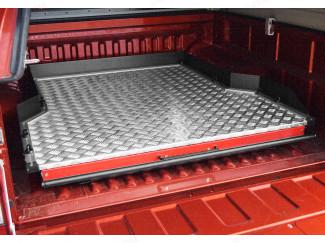 Isuzu D-Max Heavy Duty Wide Chequer Plate Deck Bed Slide