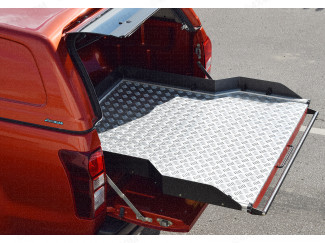 Rugged chequer plate deck