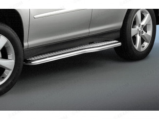 Lexus RX300 Stainless Steel Side Step Set