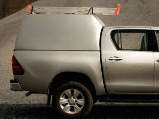 Toyota Hilux Pro Top Tradesman Canopy High Roof Blank Sided