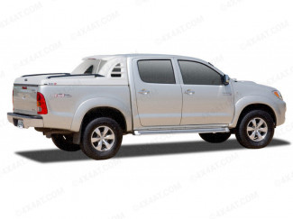 Toyota Hilux Mk6 Alpha SCR Sports Tonneau Cover Primer Finish