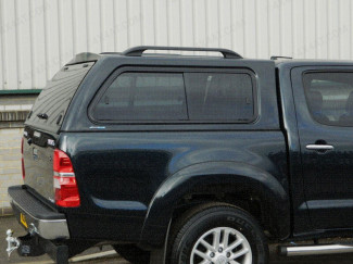 Toyota Hilux Mk6 Double Cab Aeroklas Hard Top With Side Windows