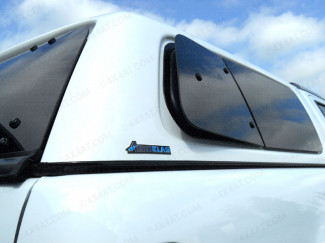 Nissan Navara NP300 2016 On Right Hand Pop Out Window Set For Aeroklas Canopy