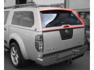 Alpha Hard Top GSE Model Heated Rear Door Glass D40 Navara
