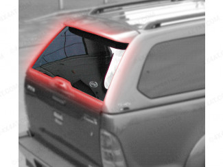 Alpha GSE Hard Top Heated Rear Door Glass Hilux 2005-2014
