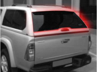 Rear Door Glass Alpha GSE Non Heated Isuzu Rodeo 03-11