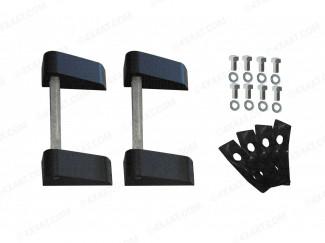 Mountain Top Hinge Kit Inc Pins (On Plate)