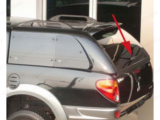 XTC2 Truck Top Avenger Canopy - Rear Door Handle Lock and keys