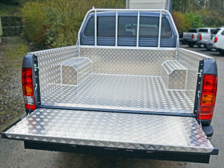 Toyota Hilux 6 Double Cab Samson Chequer Pickup Load Bed Liner