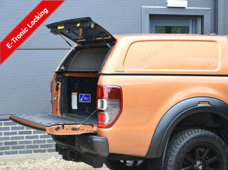 New Ford Ranger 2019 On Aeroklas E-Tronic Commercial Hard Top Canopy