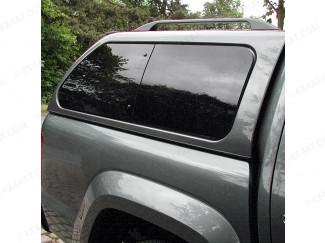 VW Amarok Aeroklas Canopy Right Hand Pop Out Window Set