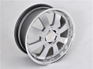 "Nissan Navara NP300 20 X 8.5"" Lenso Concerto Alloy Wheel Silver Finish"