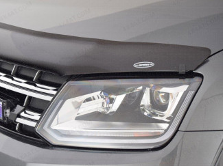 Bonnet Guard, Bug Shield, VW Amarok, Dark Smoke