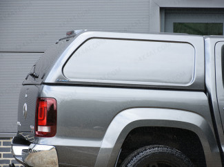 Vw Amarok Pickup Double Cab Aeroklas Hard Top Commercial Blank Sided