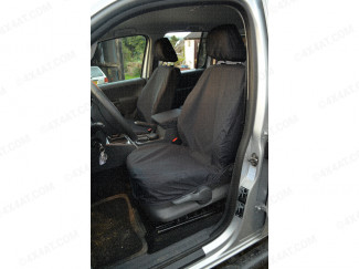 Fitted Waterproof Front Seat Covers, Pair, VW Amarok
