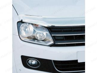 VW Amarok 2011 on Bonnet Guard (Chrome Finish)