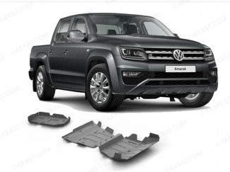 Alloy Underbody Protection Kit, 4mm, VW Amarok