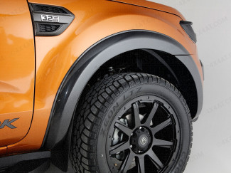 New Ford Ranger 2019 On Double Cab Standard 55MM Arches - Matt Black
