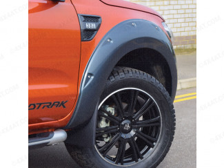 Ford Ranger Wildtrak fitted with X-treme wheel arch kit in titanium grey