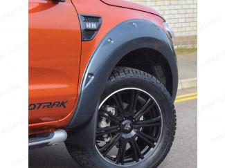 Matt Black wheel arch kit for Ford Ranger