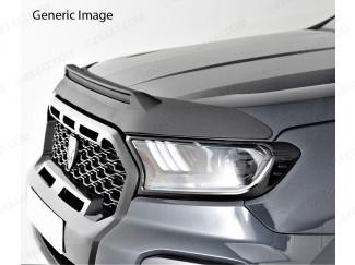 Dark Smoke Bonnet Bug Shield New Ford Ranger 2019 Facelift