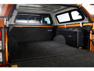 Ford Ranger double cab with leisure canopy, swing case and Bed Rug liner