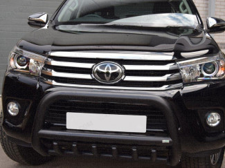 Hilux 2016 EC Black A-Bar With Axle Bars