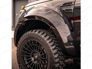 Ford Ranger Body Kit - ULTIMATE Ultra-Wide Wheel arch extensions