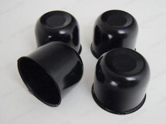 108mm Black Centre Caps