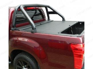 Black Single Hoop Sports Roll Bar for Isuzu D-Max