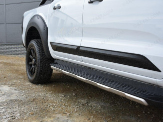 Ford Ranger Lower Door Trim - Composite ABS Body Protection Side Bars