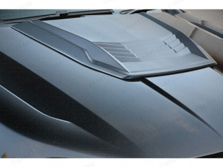 Ford Ranger Bonnet Hood Scoop, Matt Black