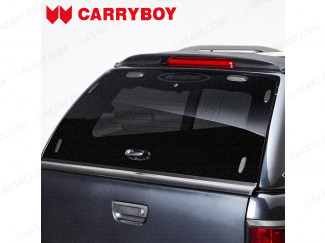 Carryboy 560 Complete Rear Glass Door for Mitsubishi L200 2005-2015 Curved Bed
