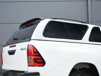 Toyota Hilux 2016 On Extra Cab Carryboy 560 Hard Trucktop Windowed with Central Locking In Primer