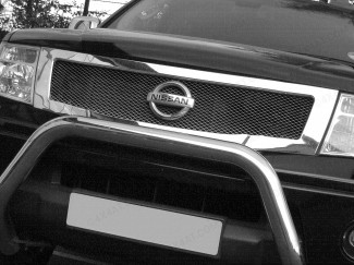 Nissan Navara D40 2005-2010 Chrome Grille Mesh