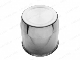 108mm Chrome Polished Centre Caps Sold Individually