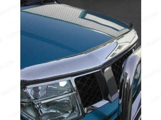Nissan Navara D40 2005-2010 Chrome Bonnet Guard