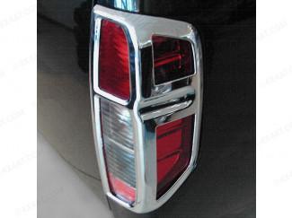 Nissan Navara D40 Chrome Rear Light Covers